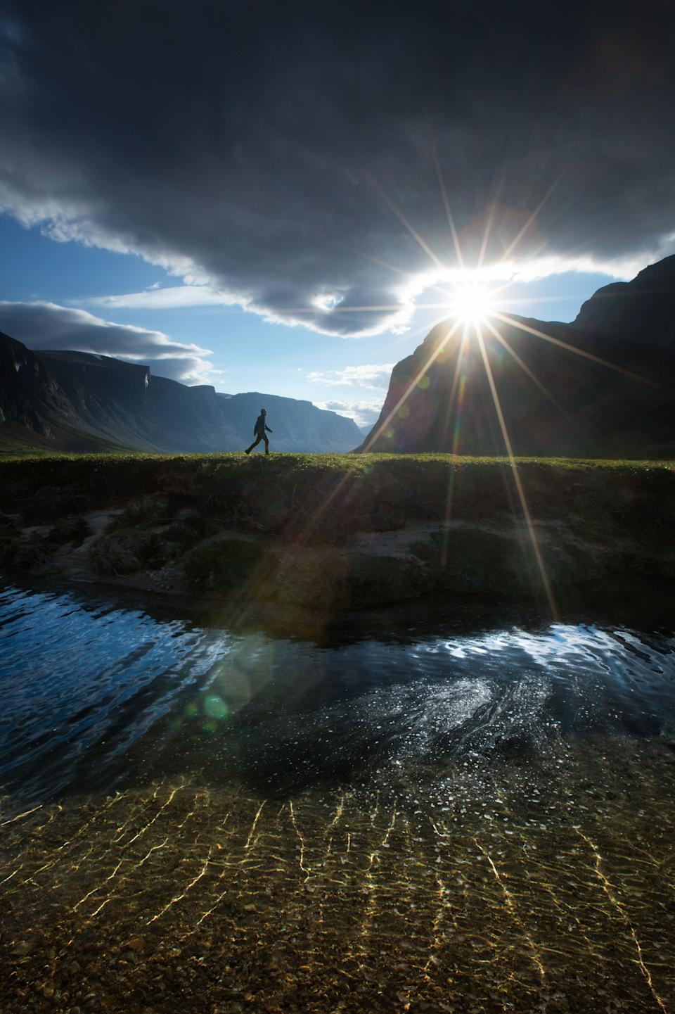 Scenes from Torngats Mountains National Park. (Photo: Paul Zizka/Caters News)