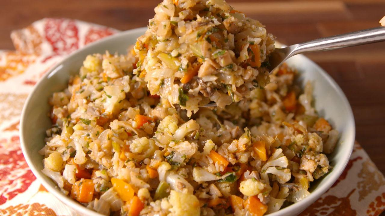 """<p>This year, gluten is totally not invited to your Thanksgiving feast. Lighten up your meal even more with our collection of <a rel=""""nofollow"""">vegan</a> and <a rel=""""nofollow"""">healthy Thanksgiving recipes</a>.</p>"""