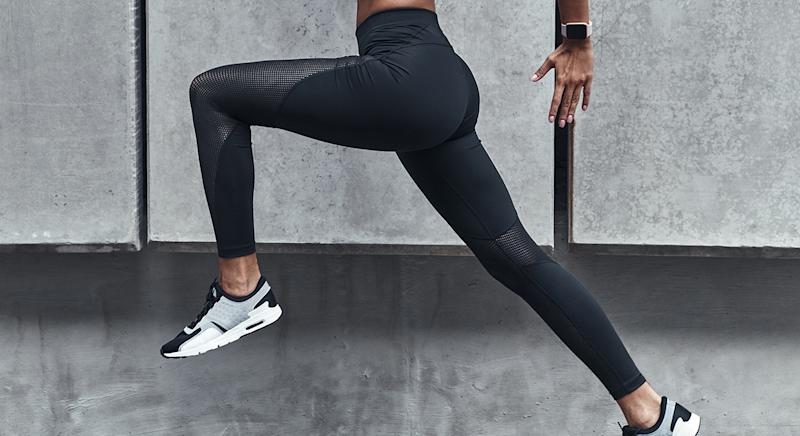 In need of a new pair of workout leggings? We've found a £20 pair you may want to add to your basket. [Photo: Getty]