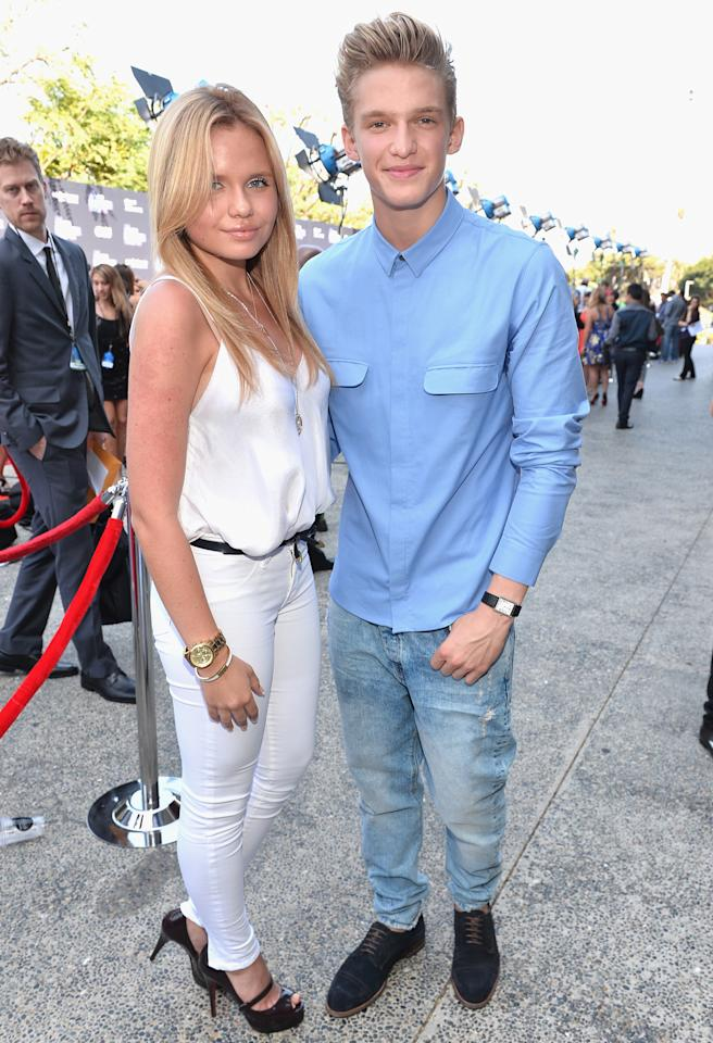 Singer Cody Simpson and actress sister Alli
