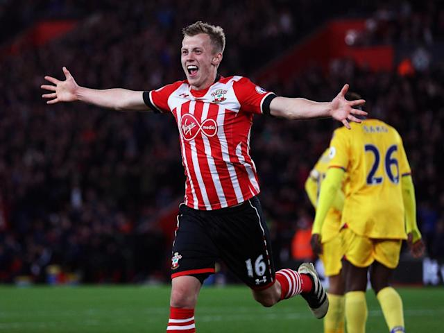Ward-Prowse ensured the three points at the death (Getty)
