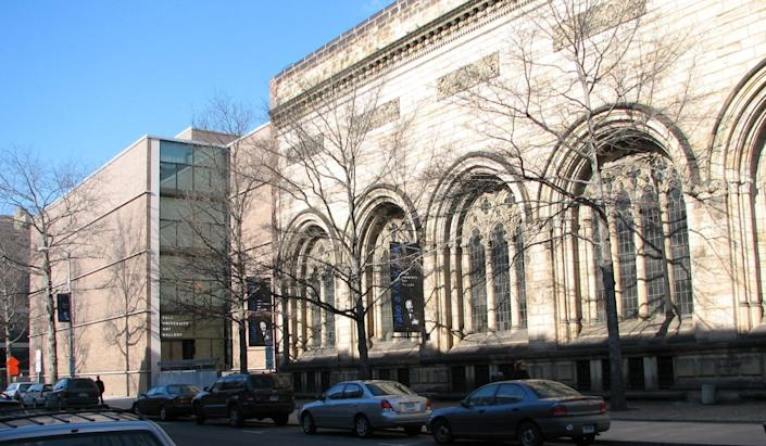 Yale opens its museum to public and students while other university and college museums stay shut. Pictured: Yale University Art Gallery.