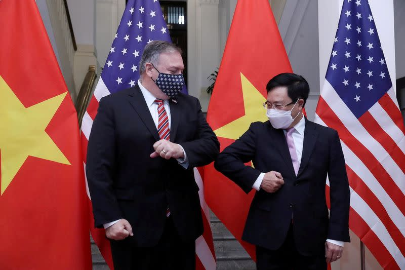 U.S. Secretary of State Mike Pompeo visits Vietnam