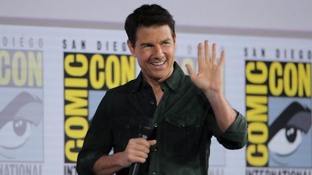 Tom Cruise is back in action!
