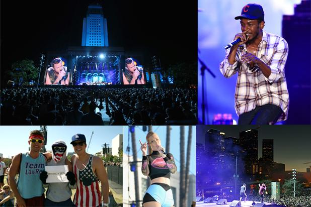 Inside Budweiser's Made In America Festival in Downtown LA (Photos)