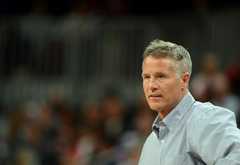 New Australia coach Brett Brown previously led the Boomers at the 2012 London Olympics