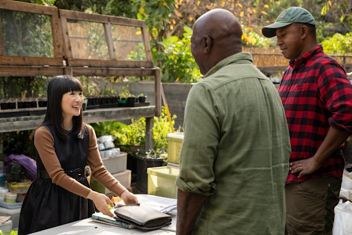 USA Today Best-Selling author Marie Kondo brings her tidying up skills to the workforce.