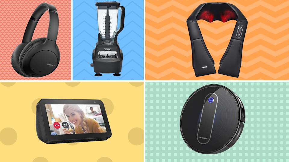 Save up to 50 percent on incredible smoothie-makers, massage-givers and more. (Photo: Amazon)
