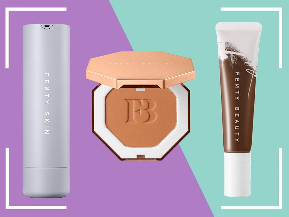 <p>We've reviewed countless Fenty Beauty and Fenty Skin products, meaning they are brands you can trust</p> (iStock/The Independent)