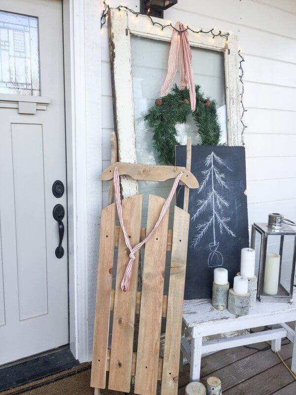 """<p>You don't have to look hard to find that vintage sled you've been dreaming of. Instead, make it yourself!</p><p><strong>Get the tutorial at <a href=""""https://www.twelveonmain.com/diy-vintage-wooden-sled/"""" rel=""""nofollow noopener"""" target=""""_blank"""" data-ylk=""""slk:Twelve on Main"""" class=""""link rapid-noclick-resp"""">Twelve on Main</a>.</strong></p><p><strong><a class=""""link rapid-noclick-resp"""" href=""""https://www.amazon.com/LaRibbons-White-Striped-Grosgrain-Ribbon/dp/B073W76M31/?tag=syn-yahoo-20&ascsubtag=%5Bartid%7C10050.g.23489557%5Bsrc%7Cyahoo-us"""" rel=""""nofollow noopener"""" target=""""_blank"""" data-ylk=""""slk:SHOP RIBBON"""">SHOP RIBBON</a><br></strong></p>"""