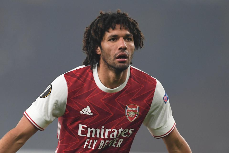 <p>Mohamed Elneny is the latest Premier League player to test positive for Covid-19 while on international duty.</p>Arsenal FC via Getty Images