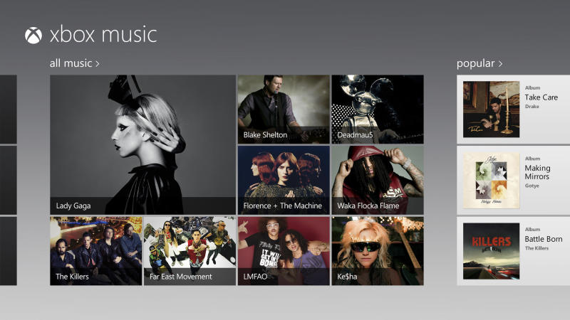 Microsoft launches Xbox Music on Web for free