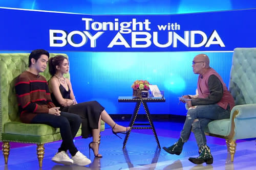It's been a while since Boy Abunda gets to do his show in a studio