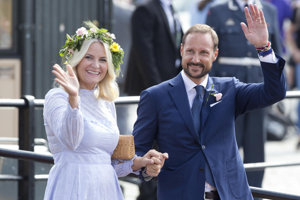 The royal couple are in line to become the next King and Queen of Norway. Photo: Getty
