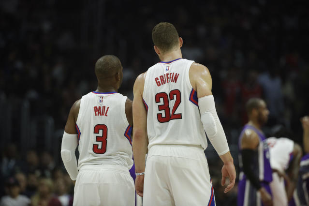 Blake Griffin and Chris Paul were behind some of the Clippers' best seasons. (AP)