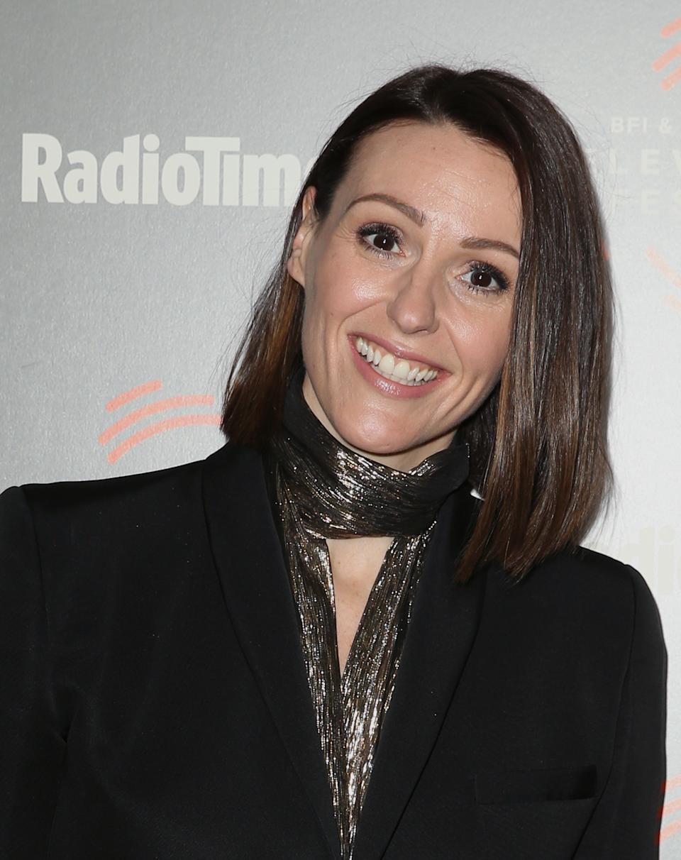 Suranne Jones attending a photocall for 'Gentleman Jack' during the BFI and Radio Times Television Festival at the BFI Southbank, London.