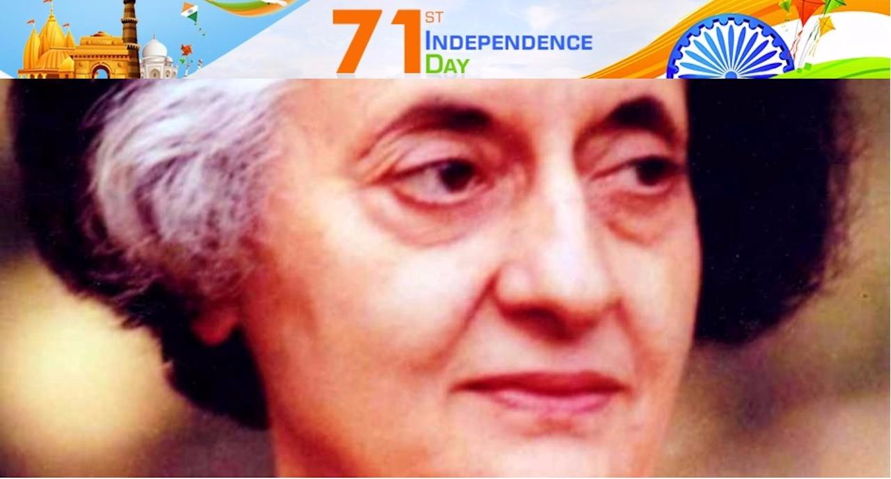 <p>Indira Gandhi – Indira Priyadarshini Gandhi was an Indian Politician, the only child of Jawaharlal Nehru and the third prime minister of independent India. She was and is the only woman prime minister of India till date. Source: Publish Your Article </p>