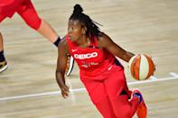 "<p>Since June, Washington Mystics guard Ariel Atkins has <a href=""https://www.instagram.com/iamarielatkins/"" class=""link rapid-noclick-resp"" rel=""nofollow noopener"" target=""_blank"" data-ylk=""slk:dedicated her Instagram feed"">dedicated her Instagram feed</a> to remembering and fighting for Black victims of police brutality. ""This <a href=""https://www.youtube.com/watch?v=CddZvPCkLvM"" class=""link rapid-noclick-resp"" rel=""nofollow noopener"" target=""_blank"" data-ylk=""slk:isn't just about basketball"">isn't just about basketball</a>,"" she told ESPN after the games were postponed. ""We aren't just basketball players, and just because we are basketball players doesn't mean that's our only platform. We need to understand that, when most of us go home, we still are Black. Our families matter.""</p>"
