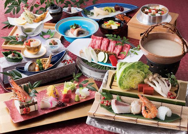 Japanese cuisine that changes with the seasons!