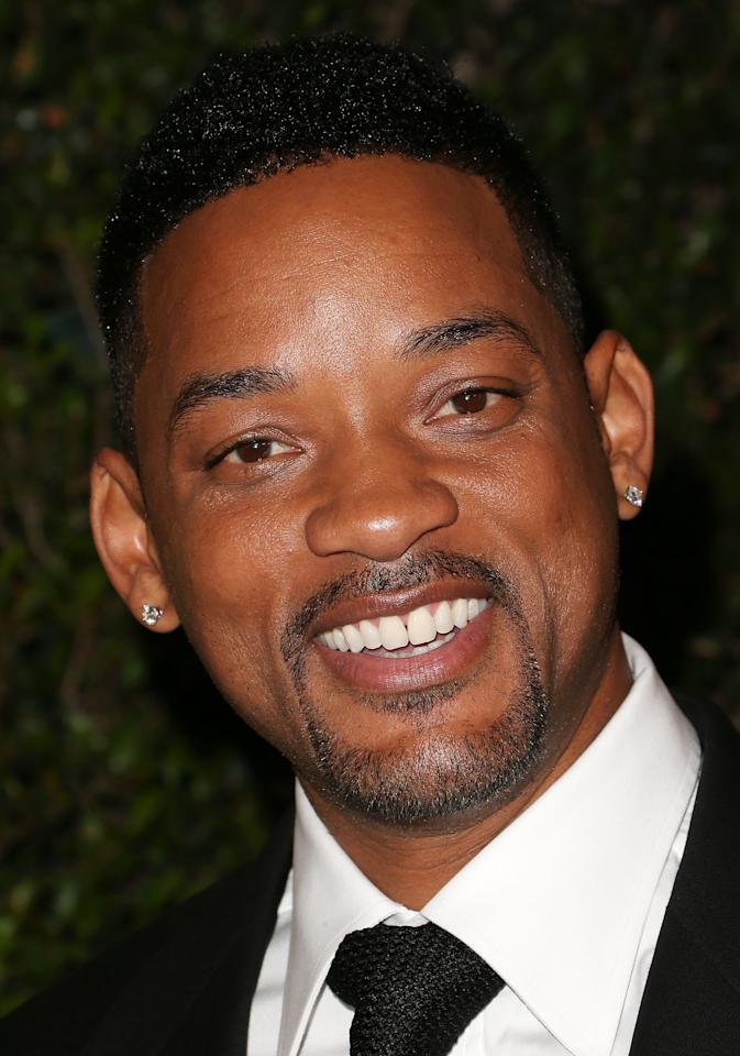 HOLLYWOOD, CA - DECEMBER 01: Actor Will Smith attends the Academy Of Motion Picture Arts And Sciences' 4th Annual Governors Awards at Hollywood and Highland on December 1, 2012 in Hollywood, California.  (Photo by Frederick M. Brown/Getty Images)
