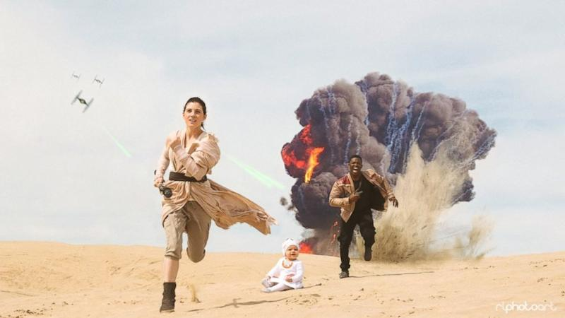 Viral 'Star Wars' Family out With New Photo Shoot Inspired By the Film
