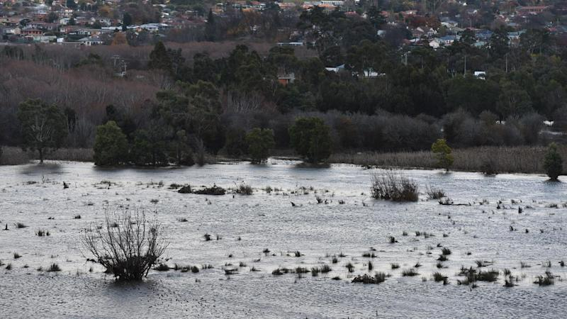 Malcolm Turnbull and Bill Shorten will again suspend campaigning to visit flood-ravaged Tasmania.
