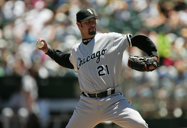 Former MLB pitcher Esteban Loaiza is expected to plead guilty this week after being arrested earlier this year in San Diego for possession of more than 44 pounds of cocaine. (Getty Images)