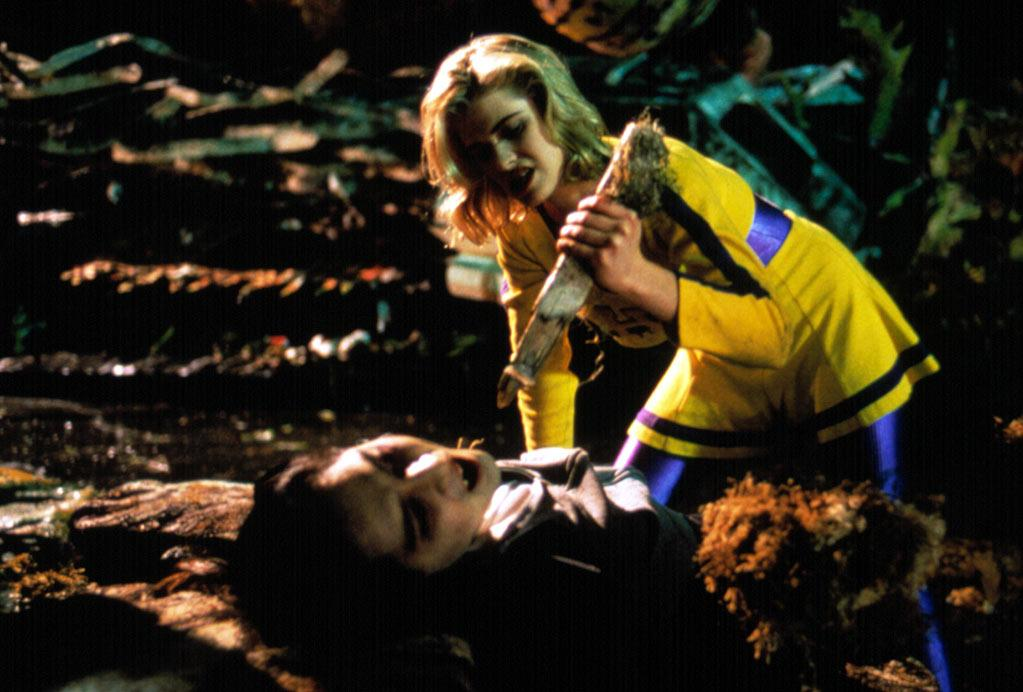 "<b>Buffy Summers:</b><br>""<a href=""http://movies.yahoo.com/movie/buffy-the-vampire-slayer/"">Buffy the Vampire Slayer</a>"" (1992) was camp, but the cheerleader-by-day/slayer-by-night proved a transitional figure. Her feats landed on TV alongside Xena and Power Puff Girls, but she ran counterpoint to horror-genre scream queens. ""<a href=""http://www.abc-clio.com/product.aspx?id=53040"">Female Action Heroes</a>"" author Gladys L. Knight notes the premillennium wave of female go-getters boasts ""lean bodies and/or petite frames. They are neither excessively hard-bodied nor voluptuous."" In 20 years, the heroines were bound to get younger."