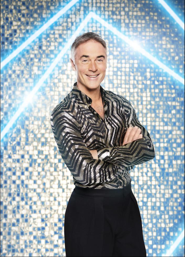 WARNING: Embargoed for publication until 00:00:01 on 15/09/2021 - Programme Name: Strictly Come Dancing 2021 - TX: n/a - Episode: Strictly Come Dancing - Generics (No. n/a) - Picture Shows: *NOT FOR PUBLICATION UNTIL 00:01HRS, WEDNESDAY 15th SEPTEMBER, 2021* Greg Wise - (C) BBC - Photographer: Ray Burmiston