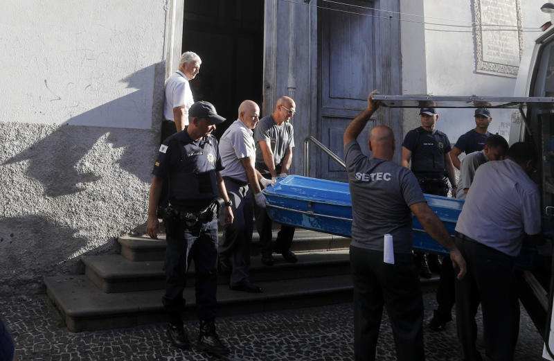 Worshippers shot dead at Brazil cathedral
