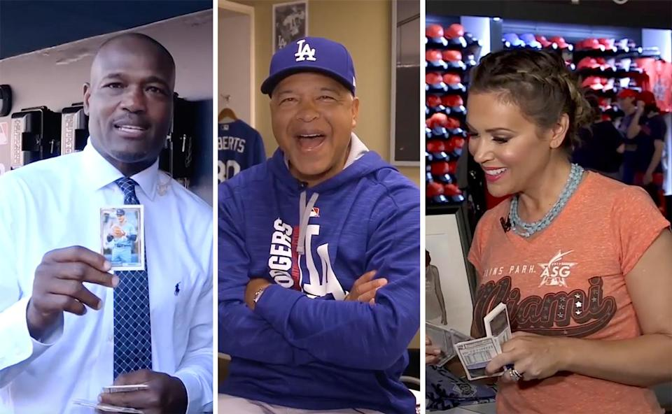 Harold Reynolds, Dave Roberts and Alyssa Milano are among our top guests of 2017. (Yahoo Sports)