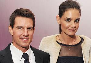 Tom Cruise and Katie Holmes | Photo Credits: Stephen Lovekin/Getty Images