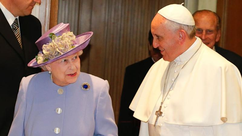 Queen Elizabeth Gives Pope Francis a Bottle of Whiskey