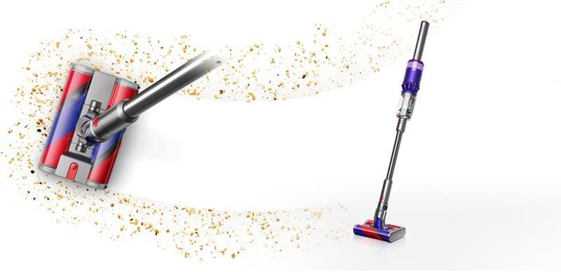 <p>If you're entire house is hardwood or tile, and you want something quick and easy, then get the <span>Dyson Omni-Glide Vacuum</span> ($400). The cool design easily whips around to clean up messes, and the double-soft barrel cleans up even the lightest amount of dust.</p>