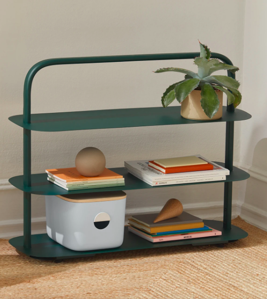 """<h2>Open Spaces Entryway Rack</h2><br>Designed to live wherever you might need it, this plenty chic moveable shelf operates as a spice rack, shoe storage, a desk organizer, or just a cute place to arrange plants. <br><br><strong>Open Spaces</strong> Entryway Rack, $, available at <a href=""""https://go.skimresources.com/?id=30283X879131&url=https%3A%2F%2Fgetopenspaces.com%2Fshop%2Fentryway-shoe-rack%2F%3Fvariant%3D32365050527790"""" rel=""""nofollow noopener"""" target=""""_blank"""" data-ylk=""""slk:Open Spaces"""" class=""""link rapid-noclick-resp"""">Open Spaces</a>"""