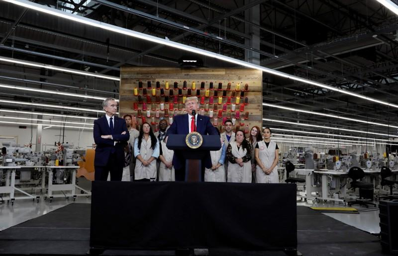 Trump's Vuitton visit stirs discord at the brand as designer hits out
