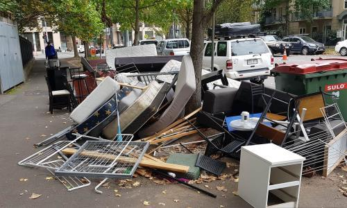 Australian councils struggle with huge rise in household rubbish during Covid-19 lockdown