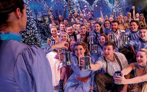 For the show to beat all Christmas shows, you'll want to take your family to Thursford - Credit: Thursford Christmas Spectacular