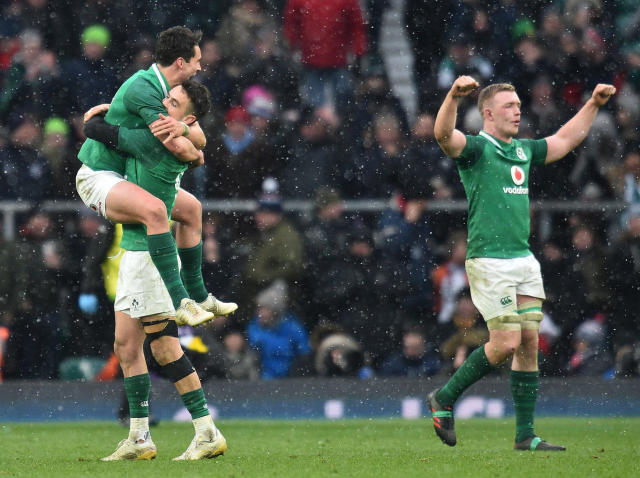 England vs Ireland player ratings: Owen Farrell and Sam Simmonds falter as Dan Leavy stars on Grand Slam Saturday
