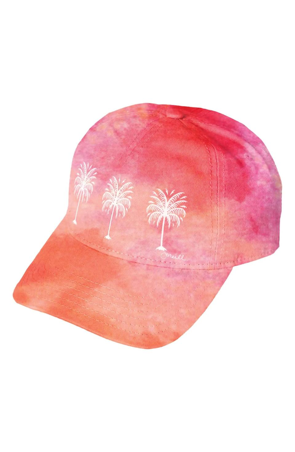 <p>Get in on the tie-dye trend with this <span>O'Neill Drop In Tie Dye Baseball Cap</span> ($24).</p>
