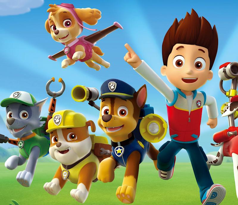 Ryder and his team of pups on Paw Patrol. (Everett Collection)