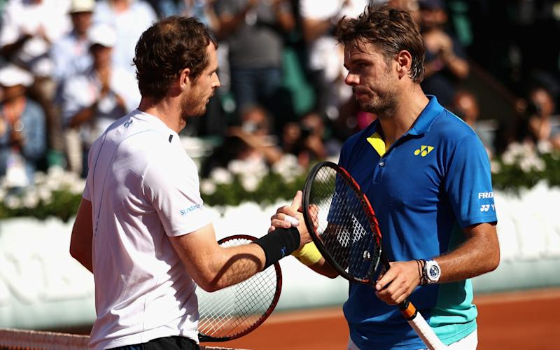 Andy Murray andStan Wawrinka —Andy Murray handed intriguing draw with Stan Wawrinka at French Open - GETTY IMAGES