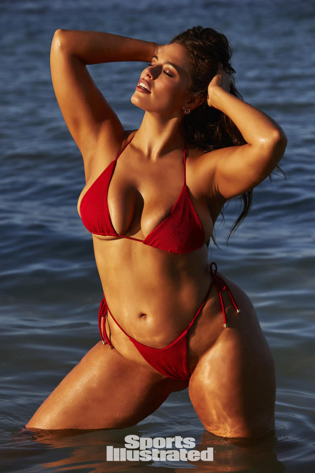 "<p>Ashley Graham was photographed by Josie Clough in Nevis. Swimsuit by <a href=""http://www.olavidaswimwear.com"" rel=""nofollow noopener"" target=""_blank"" data-ylk=""slk:Ola Vida"" class=""link rapid-noclick-resp"">Ola Vida</a>.</p>"