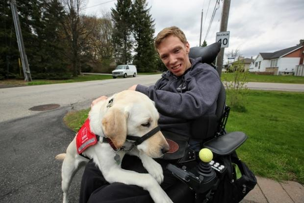 Service dog gives 'sense of safety and independence,' but training costs $25K