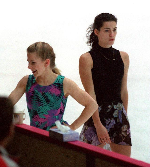 <p>Harding and Kerrigan have been inextricably connected since the infamous 1994 attack that nearly derailed Kerrigan's Olympic hopes. However they're also two of the greatest female American skaters to never win gold. Harding never even medaled, and Kerrigan won bronze in 1992 and silver in 1994. </p>