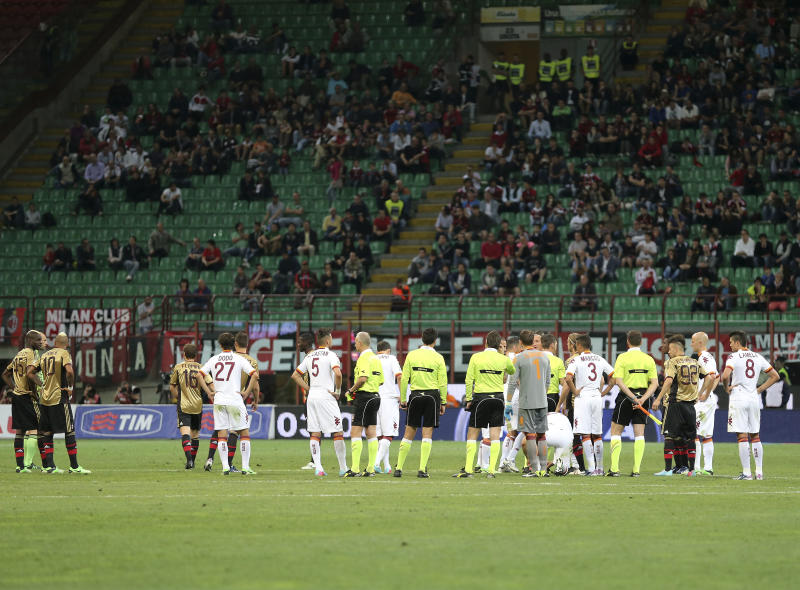Blatter appalled at racist incident in Milan-Roma