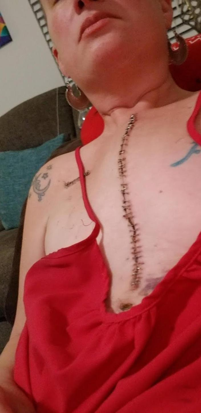 Having quadruple bypass surgery in her 30s made Kara DuBois really appreciate life and try to fulfill as many items on her bucket list as possible. (Courtesy Kara DuBois)