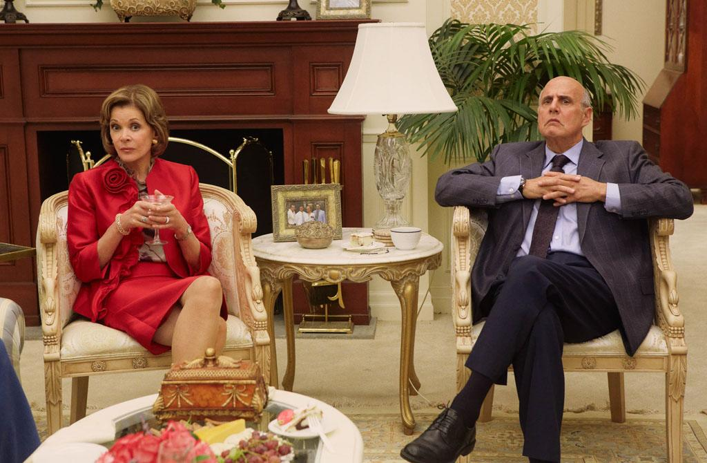 "Jessica Walter and Jeffrey Tambor in ""Arrested Development"" Season 4."