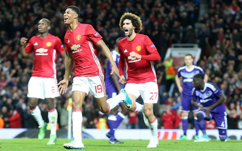 Rashford scored a sublime winner