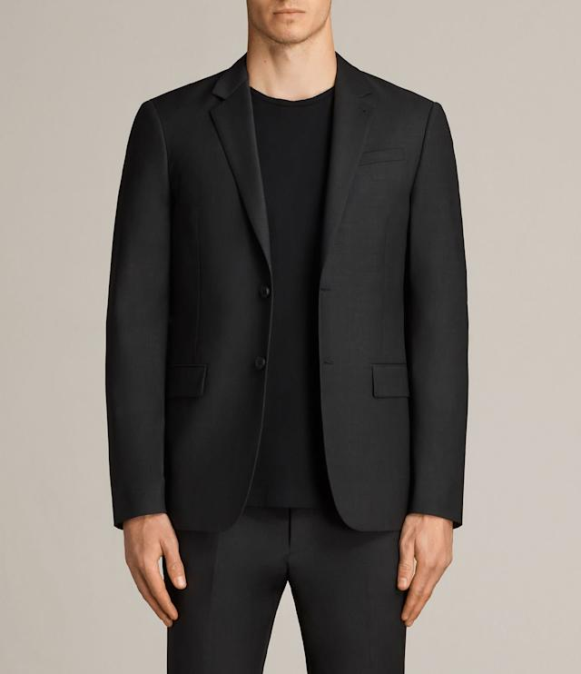 If you'd like a few classy options that are a bit edgier than J.Crew, <span>AllSaints</span> could be just right. T-shirts are definitely on the pricier end, but you can get blazers for less than $500. AllSaints is also known for its leather goods, but those would definitely be splurge items.